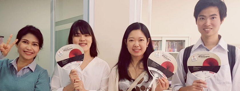 Menerima Kunjungan Mahasiswa Asal Jepang