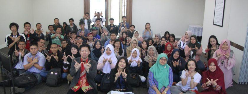 Program Studi Bahasa Jepang Selenggarakan Workshop Peluang Menerima Beasiswa Studi di Jepang