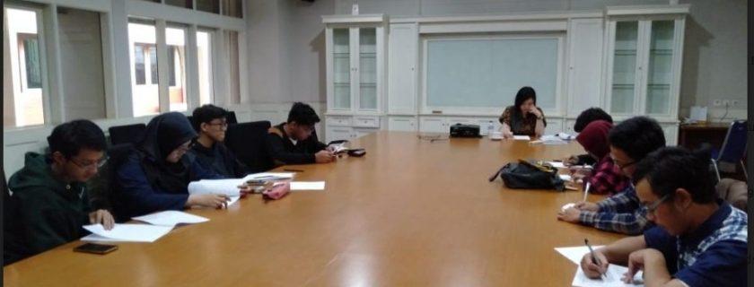 Benkyoukai dengan native speaker Ms.Yukari Okada