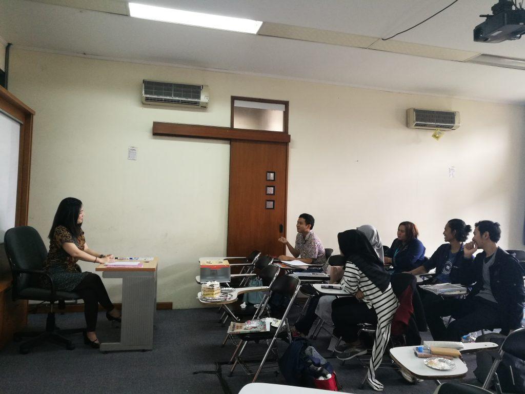 Kaiwakai bersama native speaker Ms. Yukari Okada