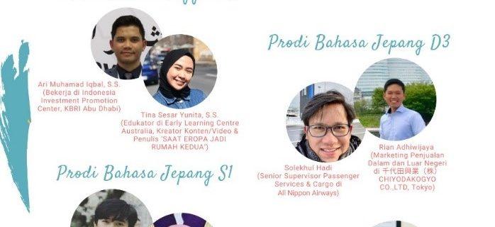 Webinar Fakultas Bahasa dengan tajuk Mendunia Berkat Bahasa